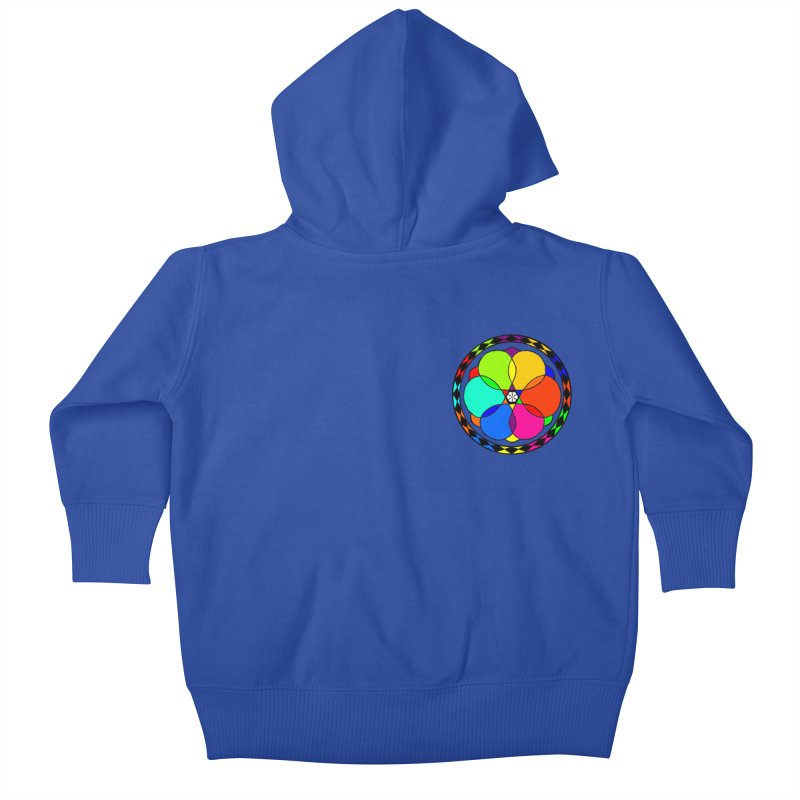 UGOVI - Heart Position - Transparent Kids Baby Zip-Up Hoody by Ugovi Artist Shop