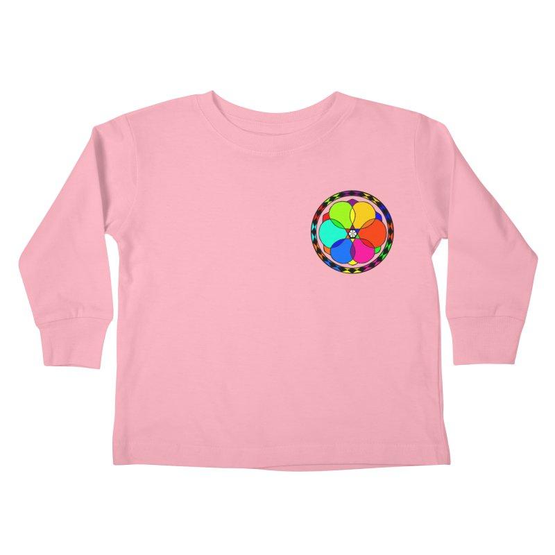 UGOVI - Heart Position - Transparent Kids Toddler Longsleeve T-Shirt by Ugovi Artist Shop