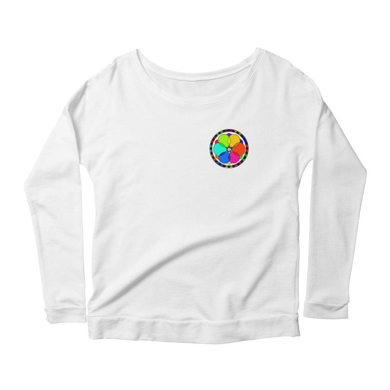UGOVI - Heart Position - Transparent Women's Scoop Neck Longsleeve T-Shirt by Ugovi Artist Shop