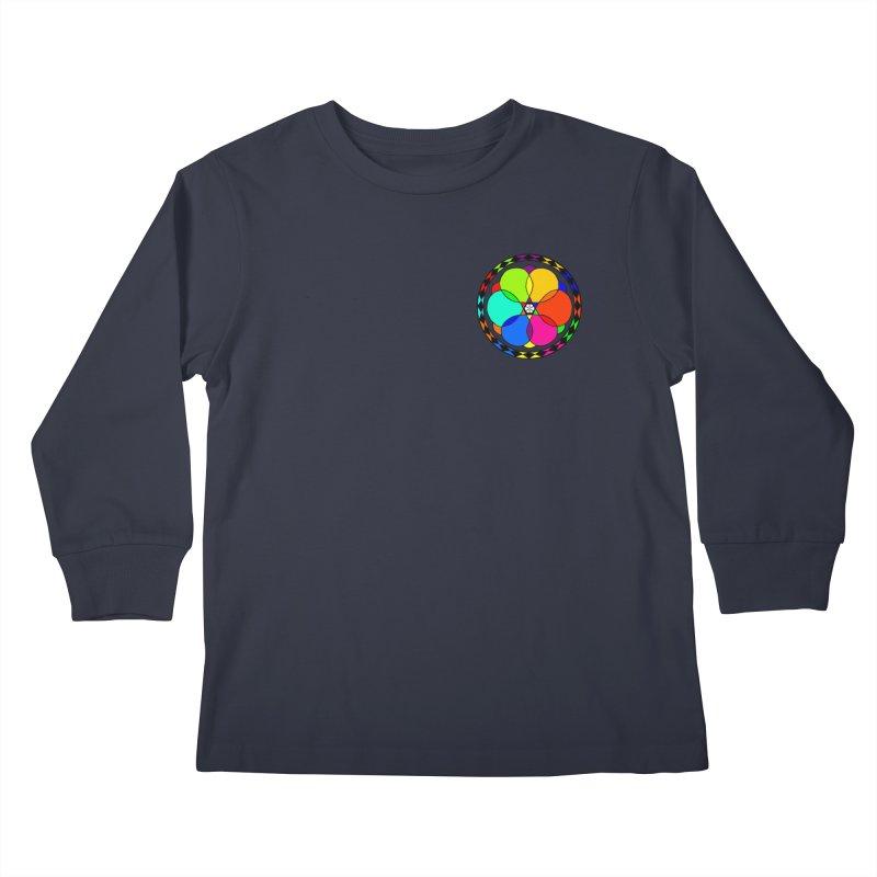 UGOVI - Heart Position - Transparent Kids Longsleeve T-Shirt by Ugovi Artist Shop