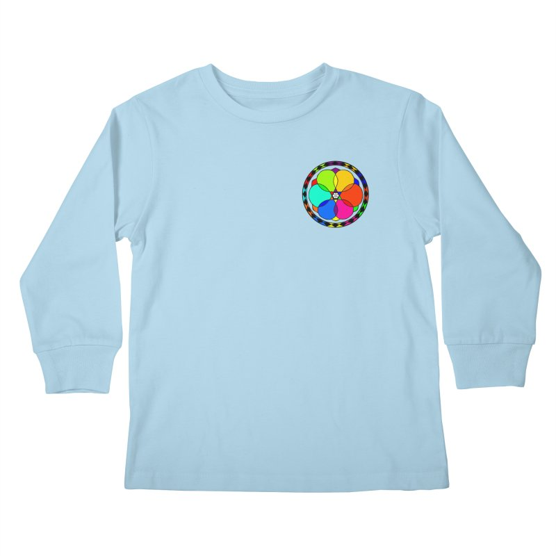 UGOVI - Heart Position - Transparent Kids Longsleeve T-Shirt by Ugovi Artist Shop
