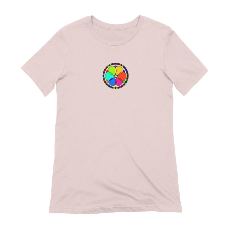 UGOVI - Center Chest - Transparent Women's Extra Soft T-Shirt by Ugovi Artist Shop