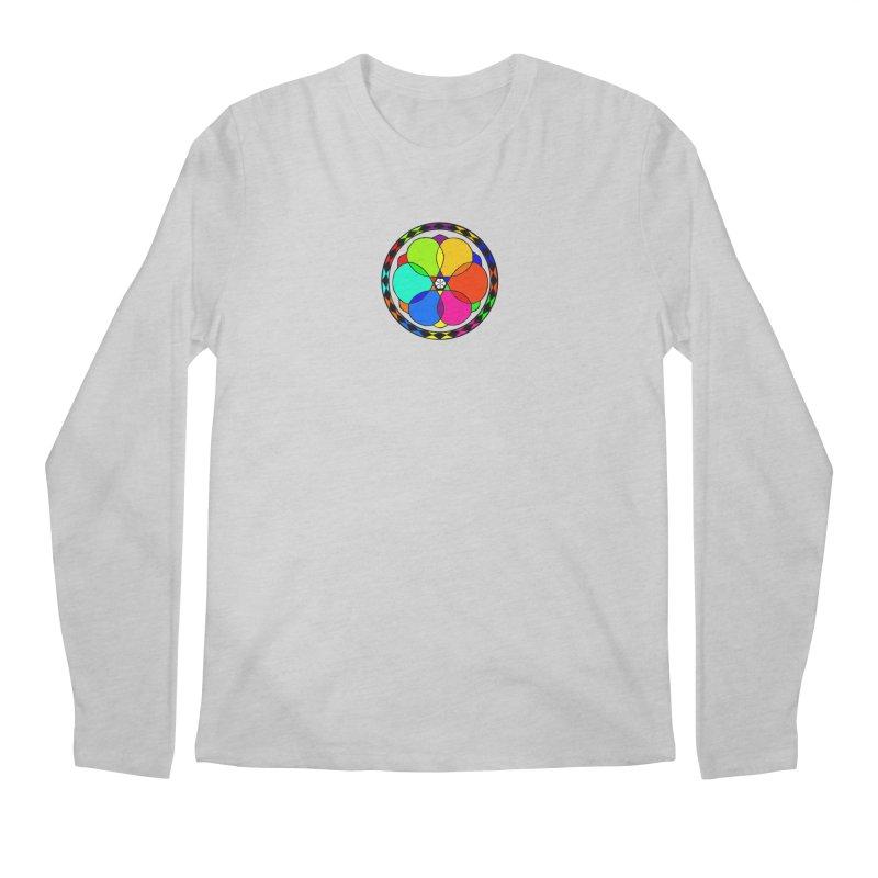UGOVI - Center Chest - Transparent Men's Regular Longsleeve T-Shirt by Ugovi Artist Shop