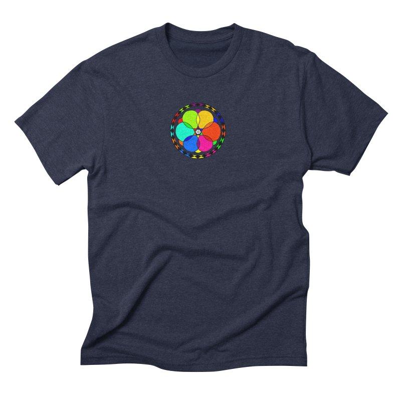 UGOVI - Center Chest - Transparent Men's Triblend T-Shirt by Ugovi Artist Shop