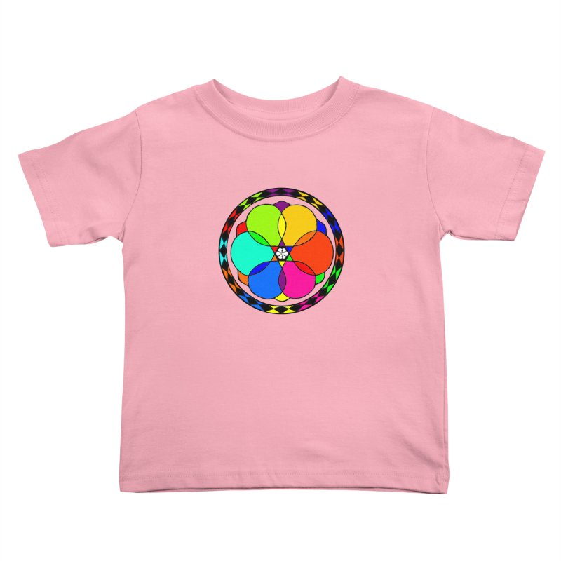 UGOVI - Center Chest - Transparent Kids Toddler T-Shirt by Ugovi Artist Shop