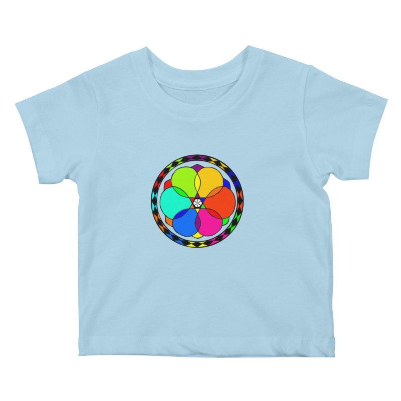 UGOVI - Center Chest - Transparent Kids Baby T-Shirt by Ugovi Artist Shop