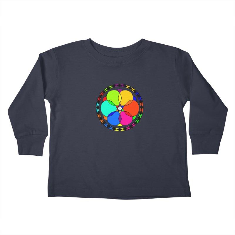 UGOVI - Center Chest - Transparent Kids Toddler Longsleeve T-Shirt by Ugovi Artist Shop