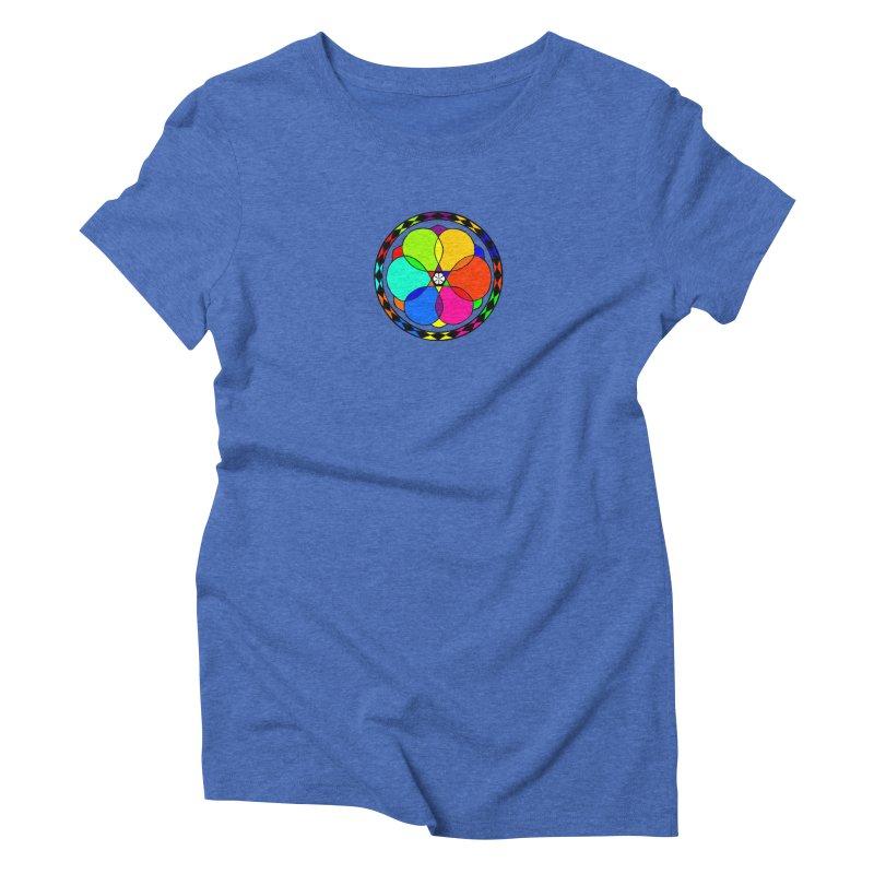 UGOVI - Center Chest - Transparent Women's Triblend T-Shirt by Ugovi Artist Shop
