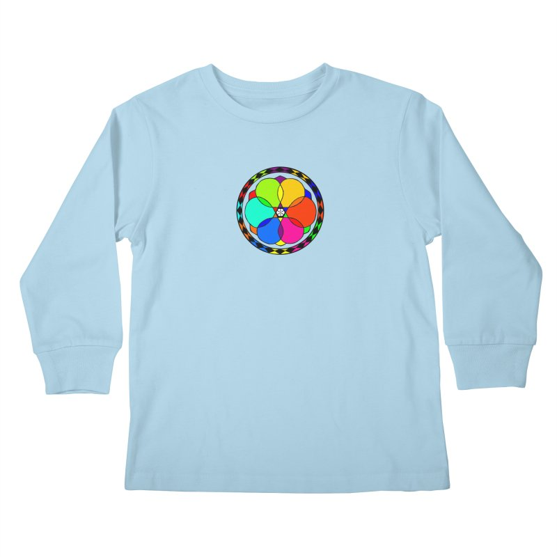 UGOVI - Center Chest - Transparent Kids Longsleeve T-Shirt by Ugovi Artist Shop