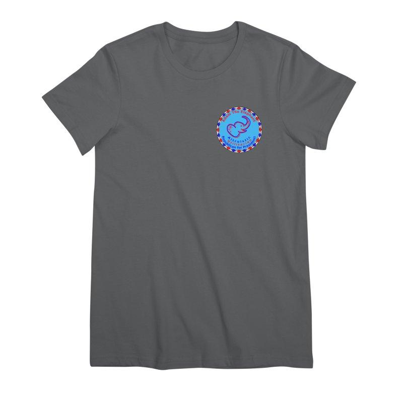 Adam The Elephant - Heart position - Altruistic Utilitarian Republican for President Women's Premium T-Shirt by Ugovi Artist Shop