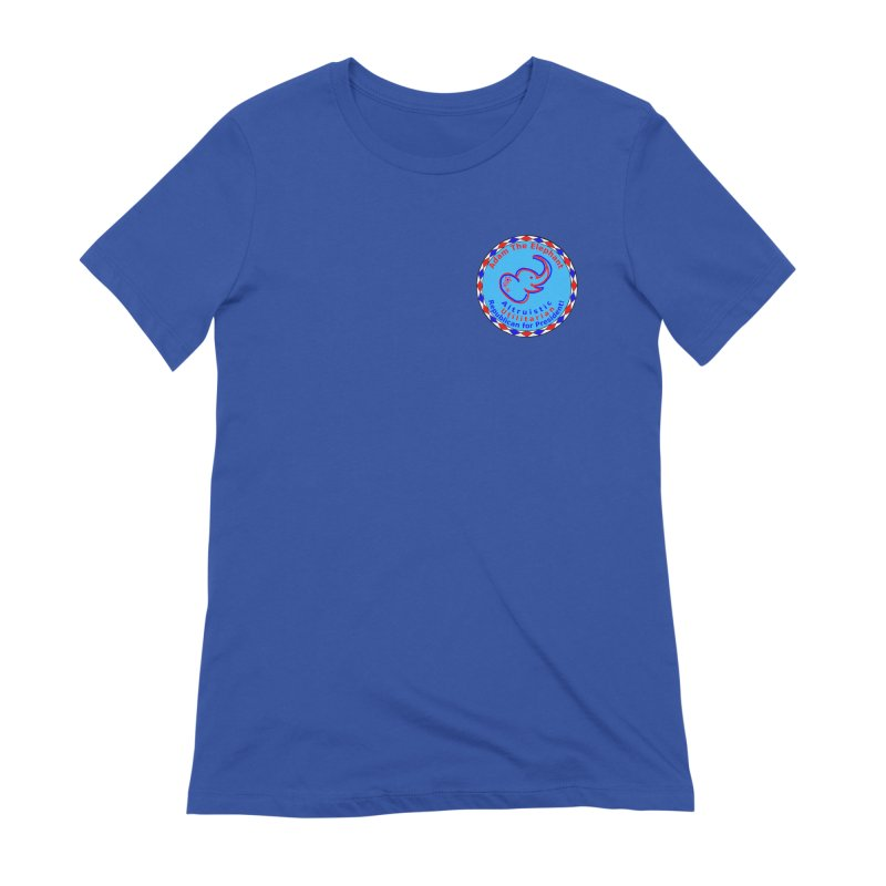 Adam The Elephant - Heart position - Altruistic Utilitarian Republican for President Women's Extra Soft T-Shirt by Ugovi Artist Shop