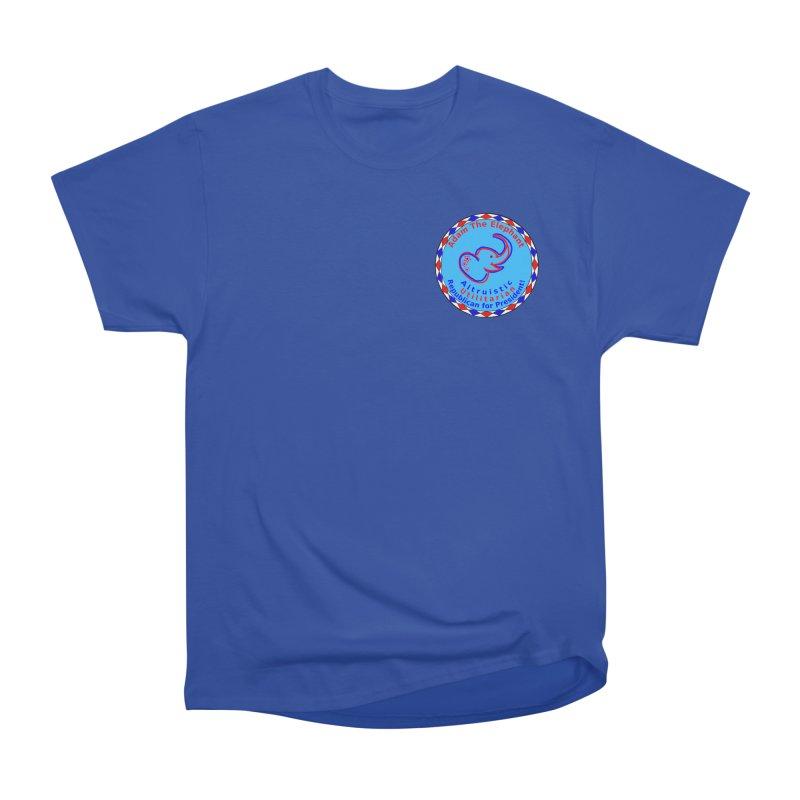 Adam The Elephant - Heart position - Altruistic Utilitarian Republican for President Women's T-Shirt by Ugovi Artist Shop