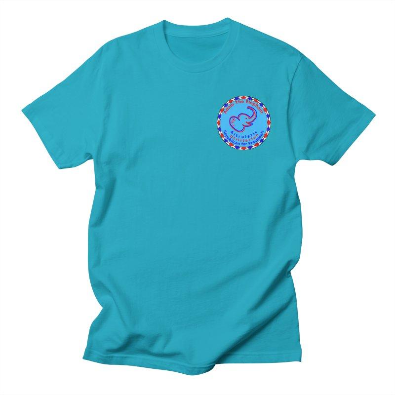 Adam The Elephant - Heart position - Altruistic Utilitarian Republican for President Men's Regular T-Shirt by Ugovi Artist Shop