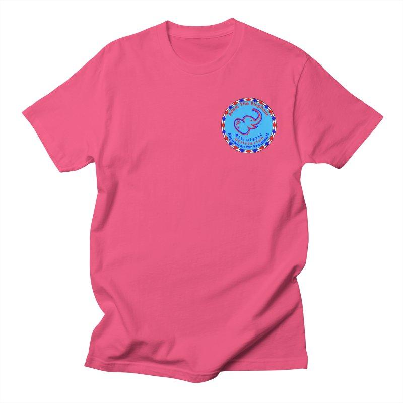 Adam The Elephant - Heart position - Altruistic Utilitarian Republican for President Women's Regular Unisex T-Shirt by Ugovi Artist Shop