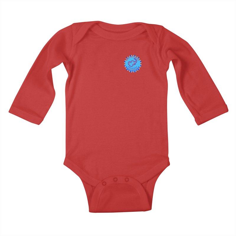 Adam The Elephant - Heart position - Altruistic Utilitarian Republican for President Kids Baby Longsleeve Bodysuit by Ugovi Artist Shop