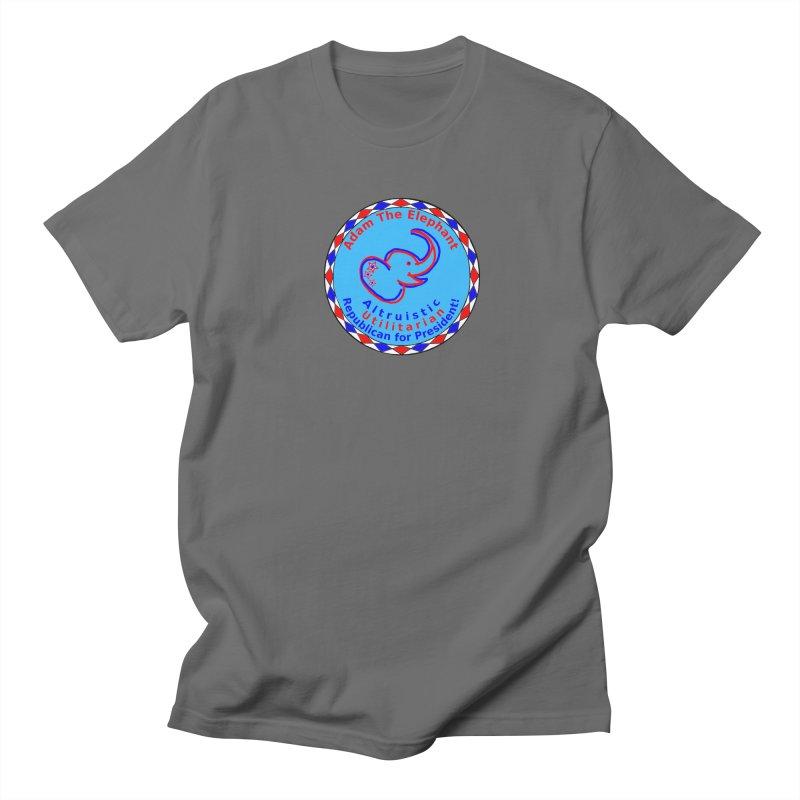 Adam The Elephant - Center Chest - Altruistic Utilitarian Republican For President Women's T-Shirt by Ugovi Artist Shop