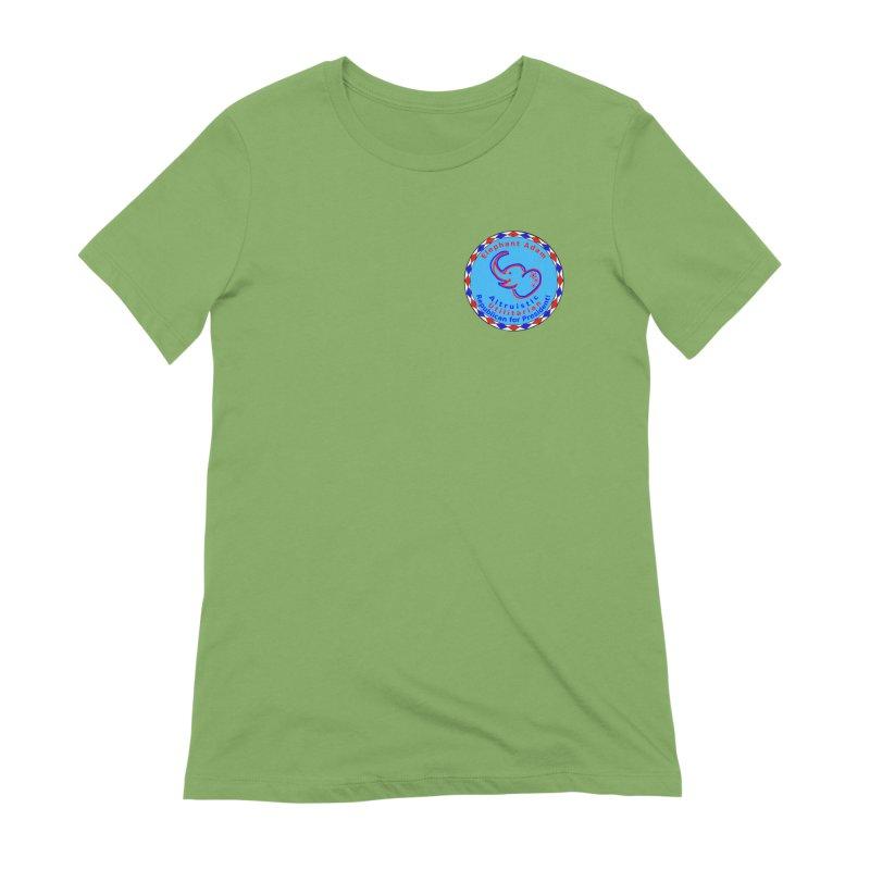 Elephant Adam - Heart Position - Altruistic Utilitarian Republican For President Women's Extra Soft T-Shirt by Ugovi Artist Shop