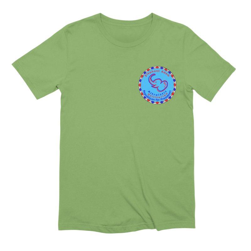 Elephant Adam - Heart Position - Altruistic Utilitarian Republican For President Men's Extra Soft T-Shirt by Ugovi Artist Shop