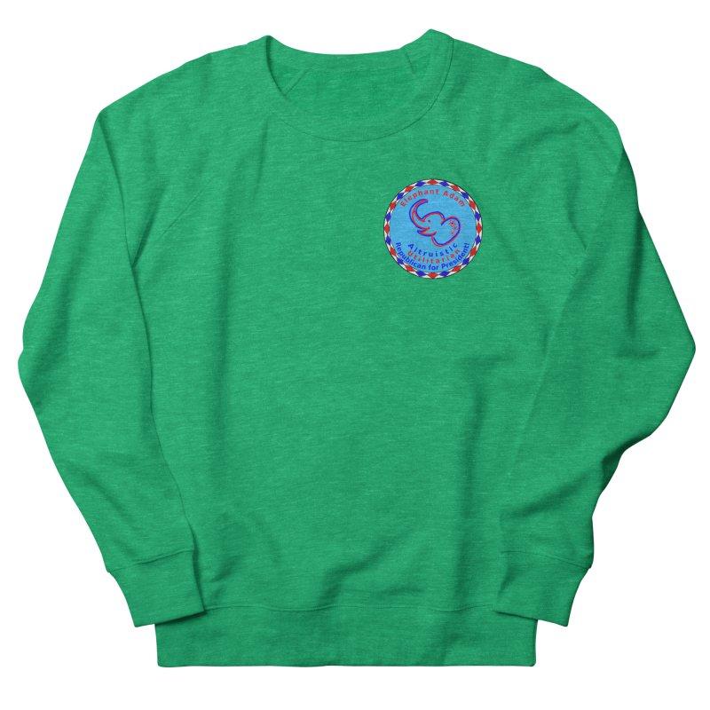 Elephant Adam - Heart Position - Altruistic Utilitarian Republican For President Women's Sweatshirt by Ugovi Artist Shop