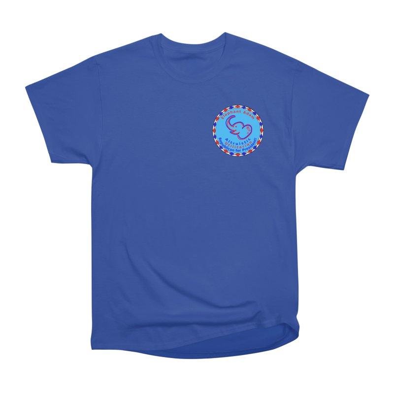 Elephant Adam - Heart Position - Altruistic Utilitarian Republican For President Men's Heavyweight T-Shirt by Ugovi Artist Shop