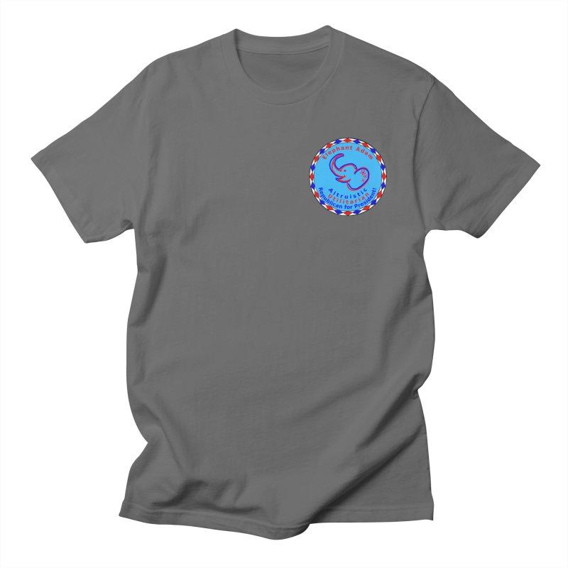 Elephant Adam - Heart Position - Altruistic Utilitarian Republican For President Men's T-Shirt by Ugovi Artist Shop