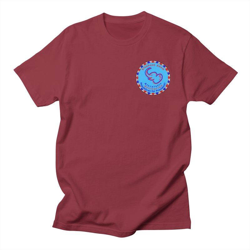 Elephant Adam - Heart Position - Altruistic Utilitarian Republican For President Women's Regular Unisex T-Shirt by Ugovi Artist Shop