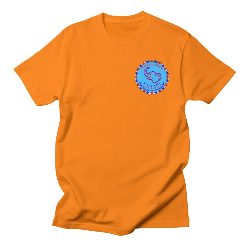 Elephant Adam - Heart Position - Altruistic Utilitarian Republican For President Men's Regular T-Shirt by Ugovi Artist Shop