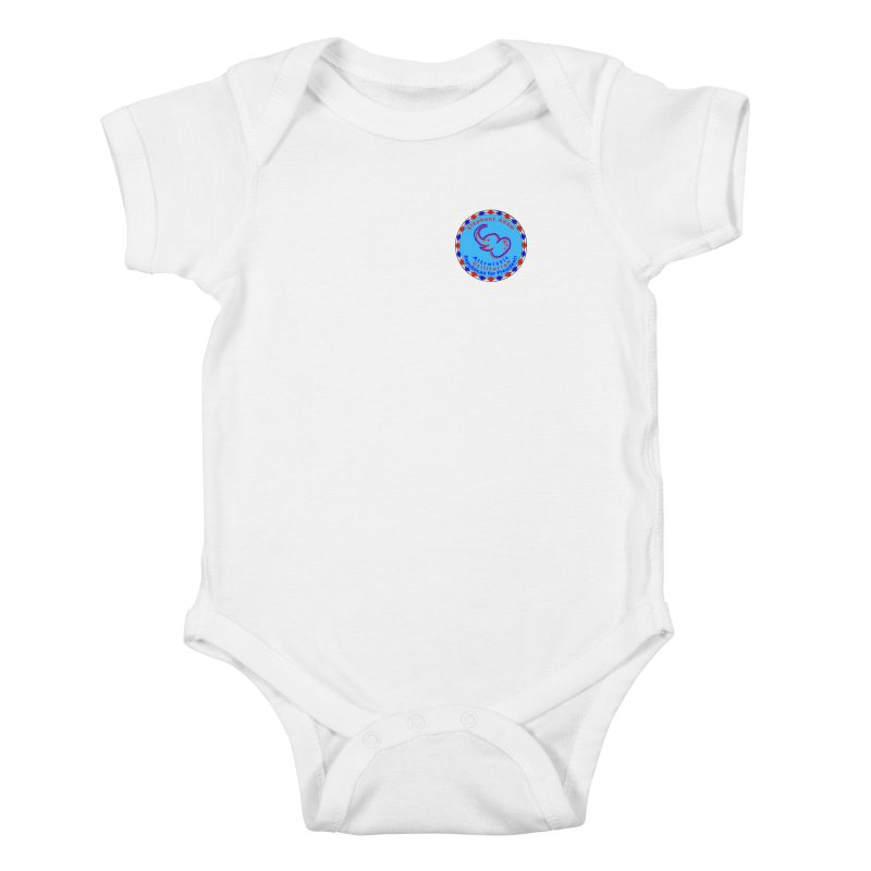 Elephant Adam - Heart Position - Altruistic Utilitarian Republican For President Kids Baby Bodysuit by Ugovi Artist Shop