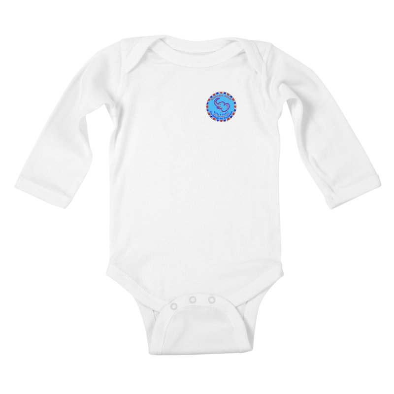 Elephant Adam - Heart Position - Altruistic Utilitarian Republican For President Kids Baby Longsleeve Bodysuit by Ugovi Artist Shop