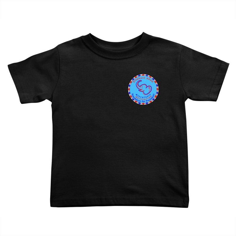 Elephant Adam - Heart Position - Altruistic Utilitarian Republican For President Kids Toddler T-Shirt by Ugovi Artist Shop