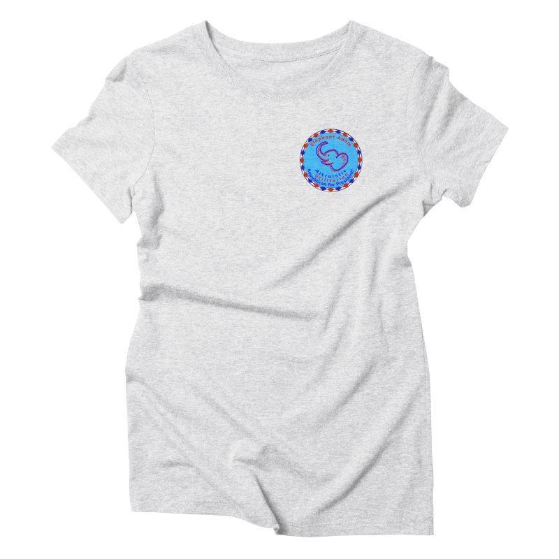 Elephant Adam - Heart Position - Altruistic Utilitarian Republican For President Women's T-Shirt by Ugovi Artist Shop