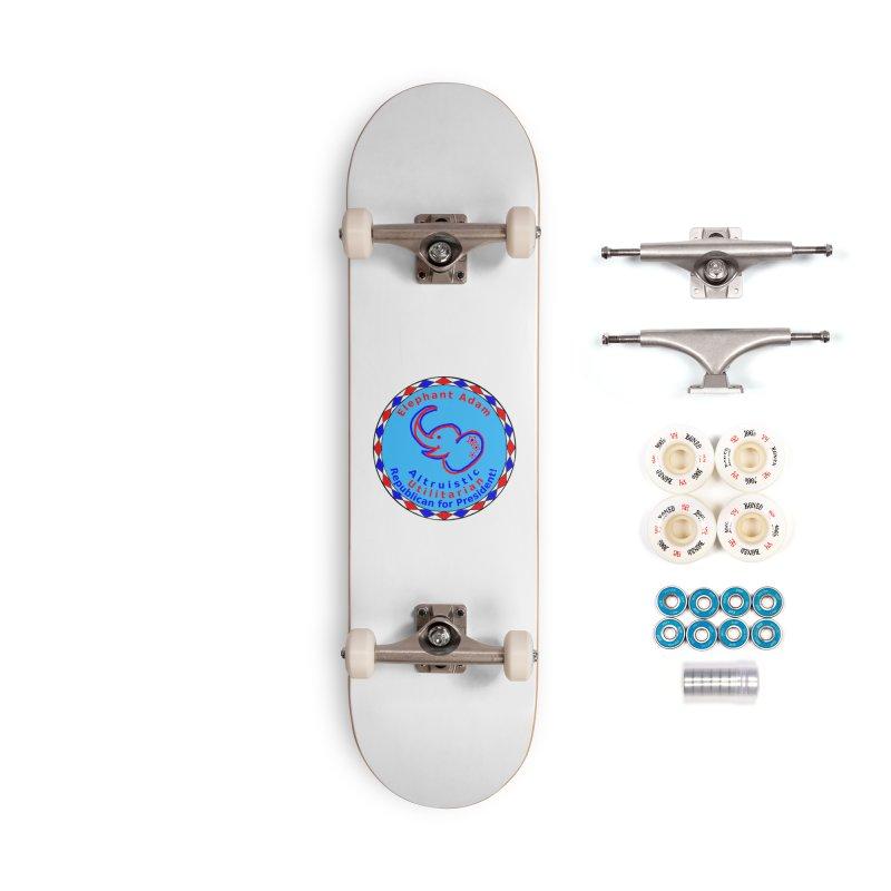 Elephant Adam - Chest Center - Altruistic Utilitarian Republican For President Accessories Complete - Premium Skateboard by Ugovi Artist Shop