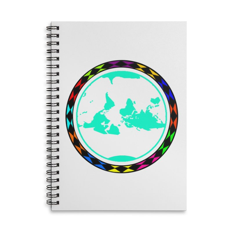 New Vision UN - Max Accessories Lined Spiral Notebook by Ugovi Artist Shop