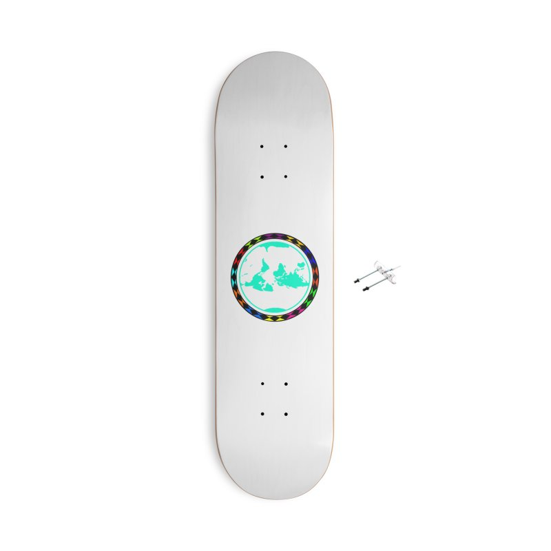 New Vision UN - Max Accessories With Hanging Hardware Skateboard by Ugovi Artist Shop