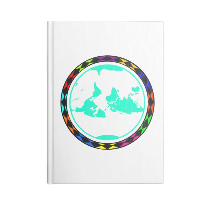 New Vision UN - Max Accessories Lined Journal Notebook by Ugovi Artist Shop