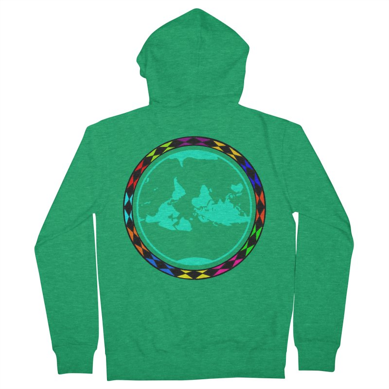 New Vision UN - Max Men's French Terry Zip-Up Hoody by Ugovi Artist Shop