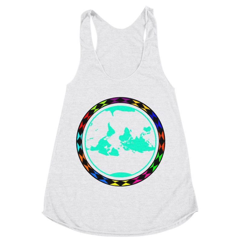 New Vision UN - Max Women's Racerback Triblend Tank by Ugovi Artist Shop
