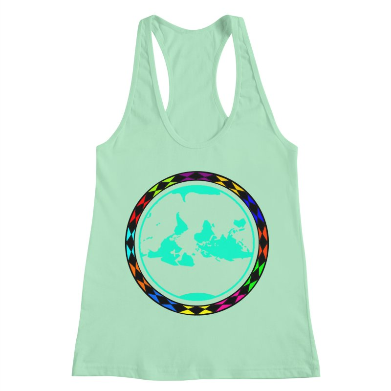 New Vision UN - Max Women's Racerback Tank by Ugovi Artist Shop