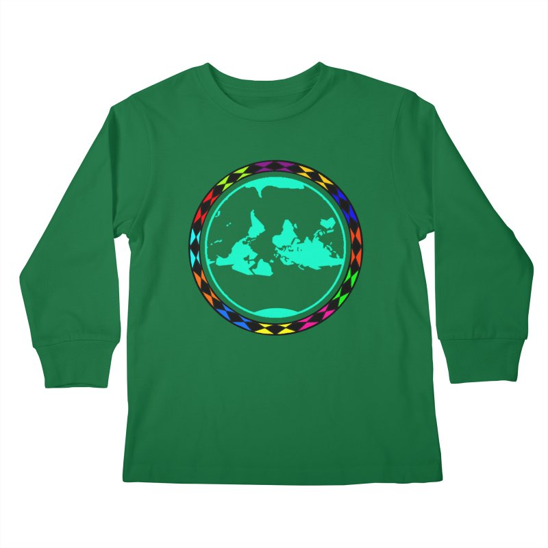 New Vision UN - Max Kids Longsleeve T-Shirt by Ugovi Artist Shop