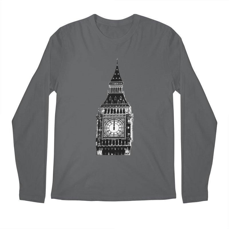 Big Ben Strikes Twelve Men's Regular Longsleeve T-Shirt by Ugovi Artist Shop