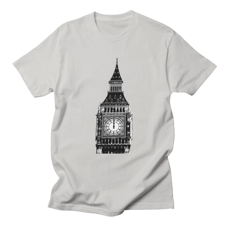 Big Ben Strikes Twelve Women's Regular Unisex T-Shirt by Ugovi Artist Shop
