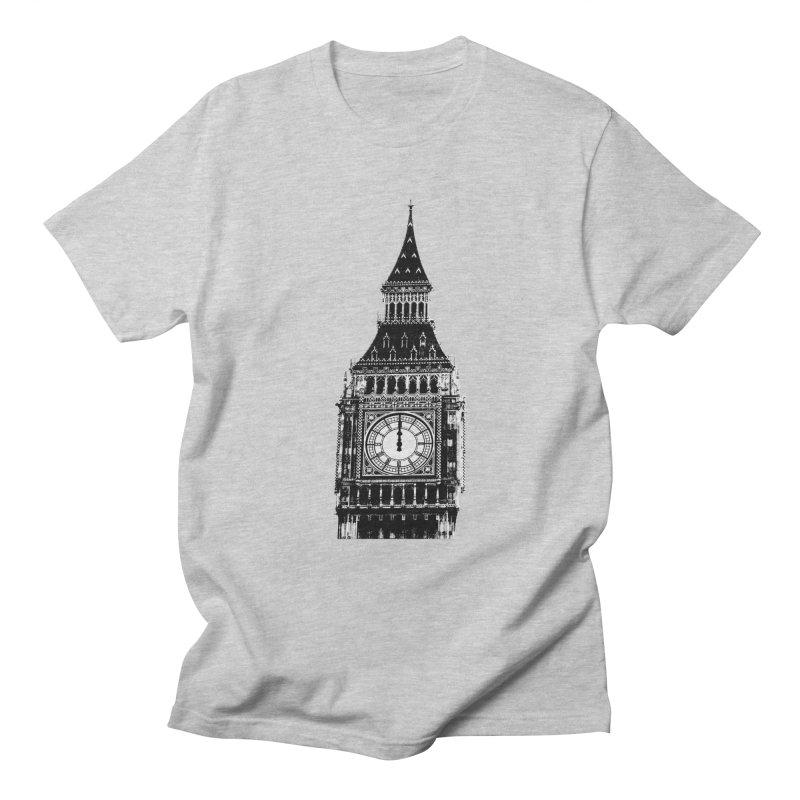 Big Ben Strikes Twelve Women's Regular Unisex T-Shirt by Ugovi Artist Shop