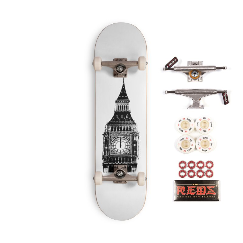 Big Ben Strikes Twelve Accessories Complete - Pro Skateboard by Ugovi Artist Shop