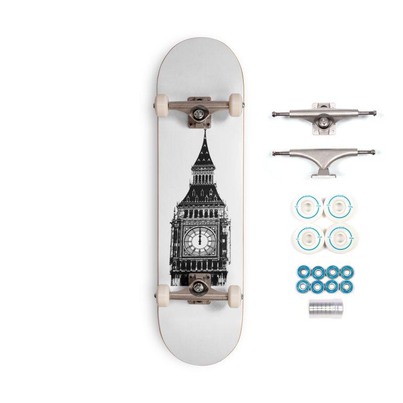 Big Ben Strikes Twelve Accessories Complete - Basic Skateboard by Ugovi Artist Shop