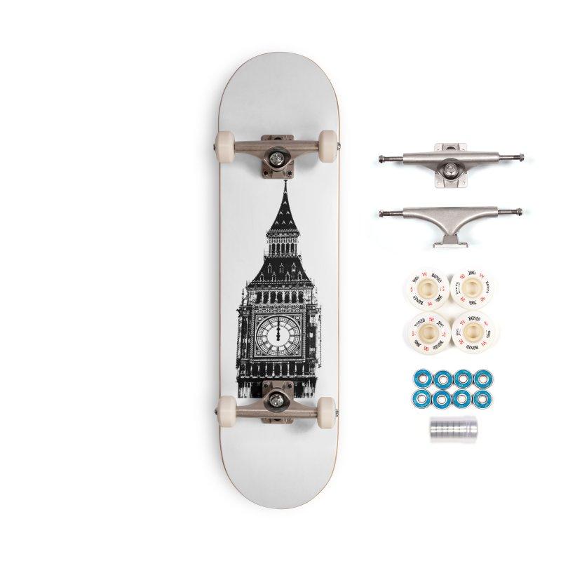 Big Ben Strikes Twelve Accessories Complete - Premium Skateboard by Ugovi Artist Shop