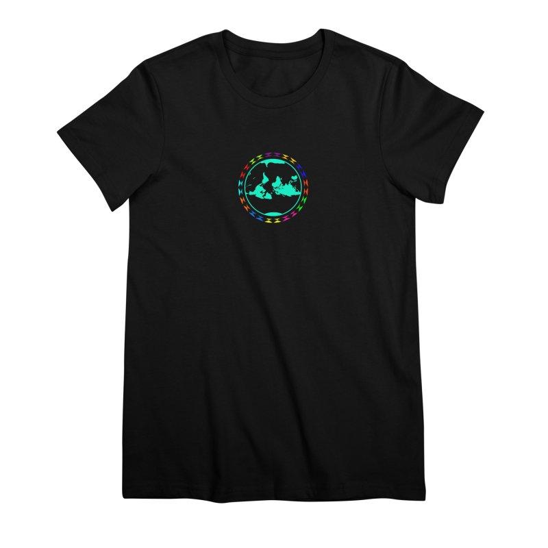 New Vision UN - Center Chest Women's Premium T-Shirt by Ugovi Artist Shop