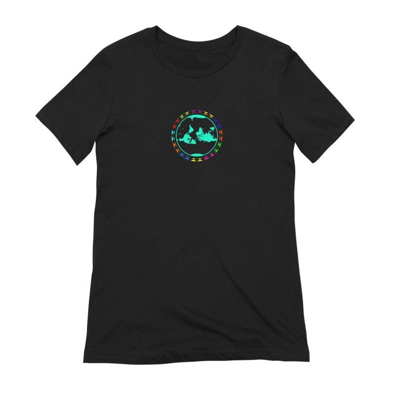 New Vision UN - Center Chest Women's Extra Soft T-Shirt by Ugovi Artist Shop
