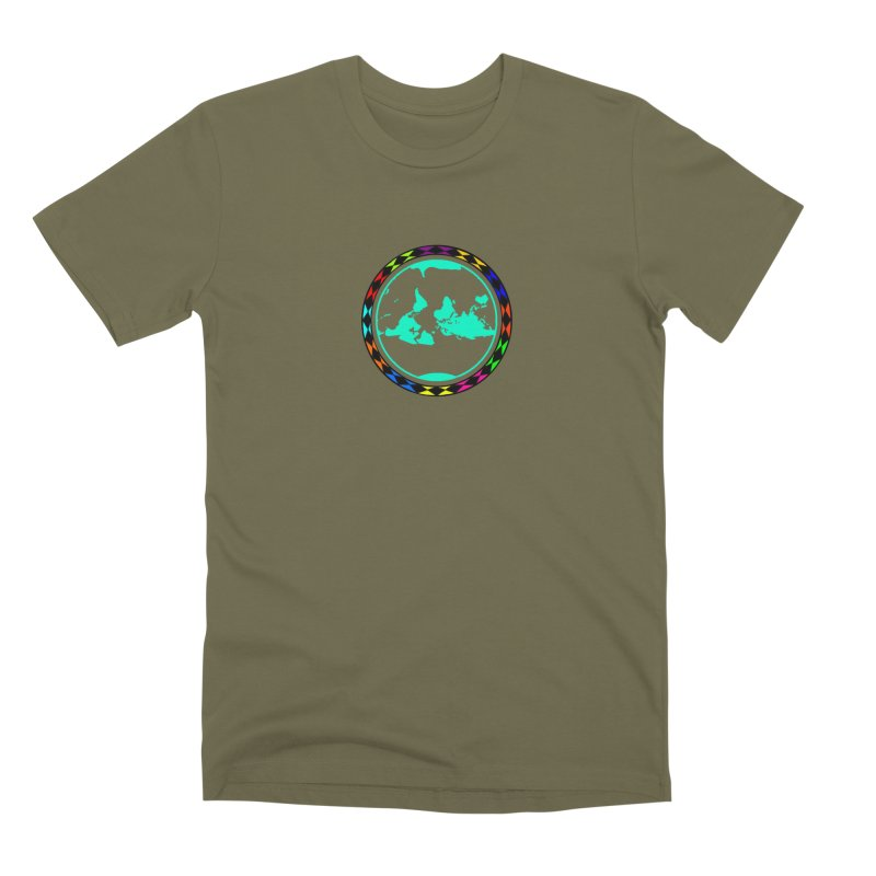 New Vision UN - Center Chest Men's Premium T-Shirt by Ugovi Artist Shop