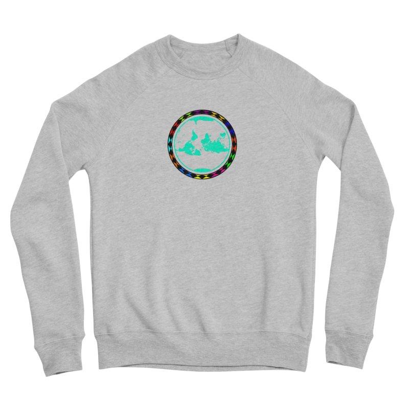 New Vision UN - Center Chest Women's Sponge Fleece Sweatshirt by Ugovi Artist Shop
