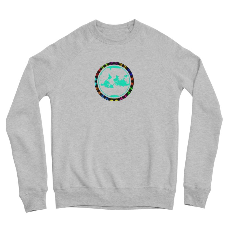 New Vision UN - Center Chest Men's Sponge Fleece Sweatshirt by Ugovi Artist Shop